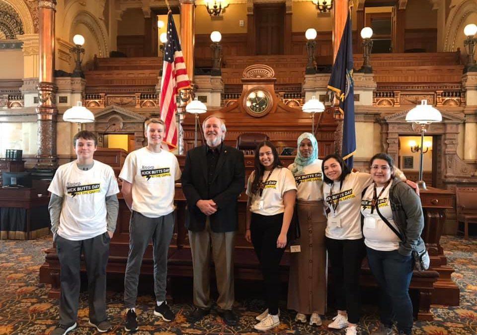 Garden City HS Resist Group participates in Kansas Kicks Butts