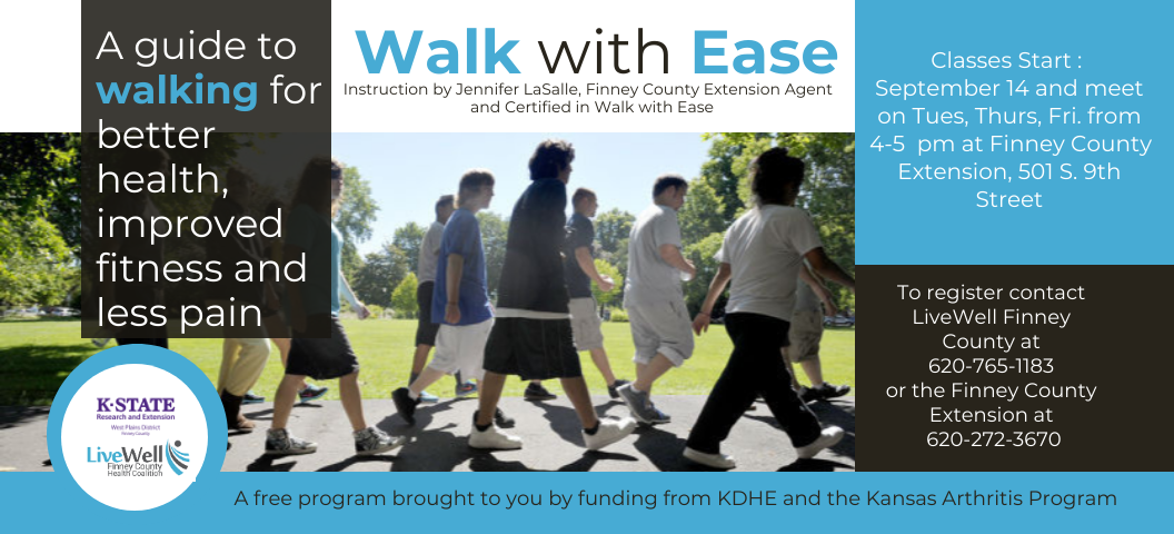 Walk With Ease Classes Starting Soon!